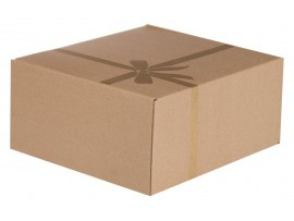 Коробка подарочная «Крафт», самосборная, малая, арт.6612